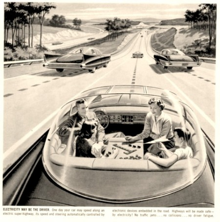 In the Future Your Car Will Drive Itself - Allowing You to Play Board Games